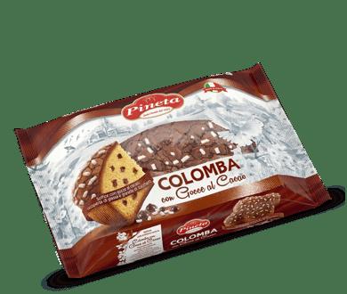 Biscotti Pineta - Colomba con Gocce al cacao - Linea Benessere