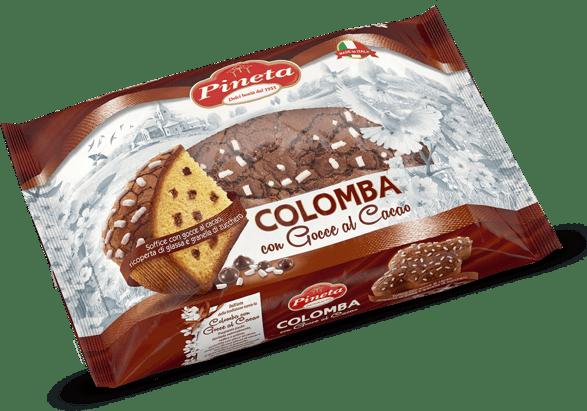 Colomba con Gocce al cacao - pack