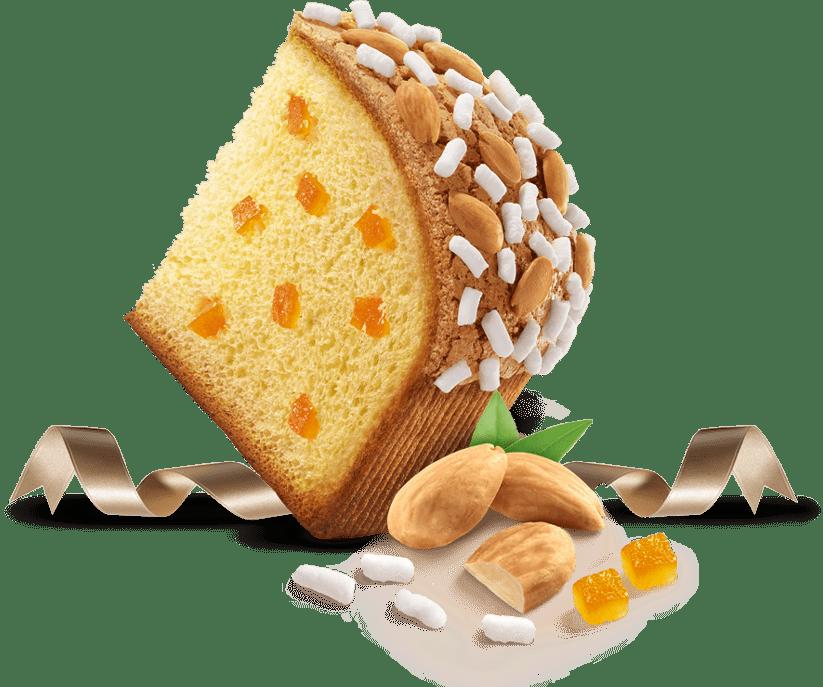 Biscotti Pineta - Colomba Classica - con ingredienti