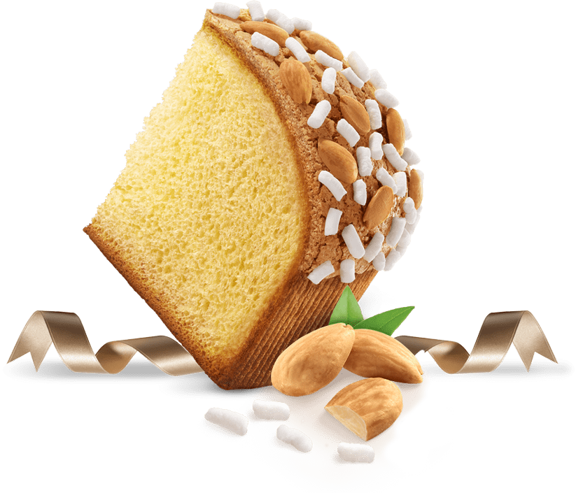 Biscotti Pineta - Colomba senza Canditi - con ingredienti