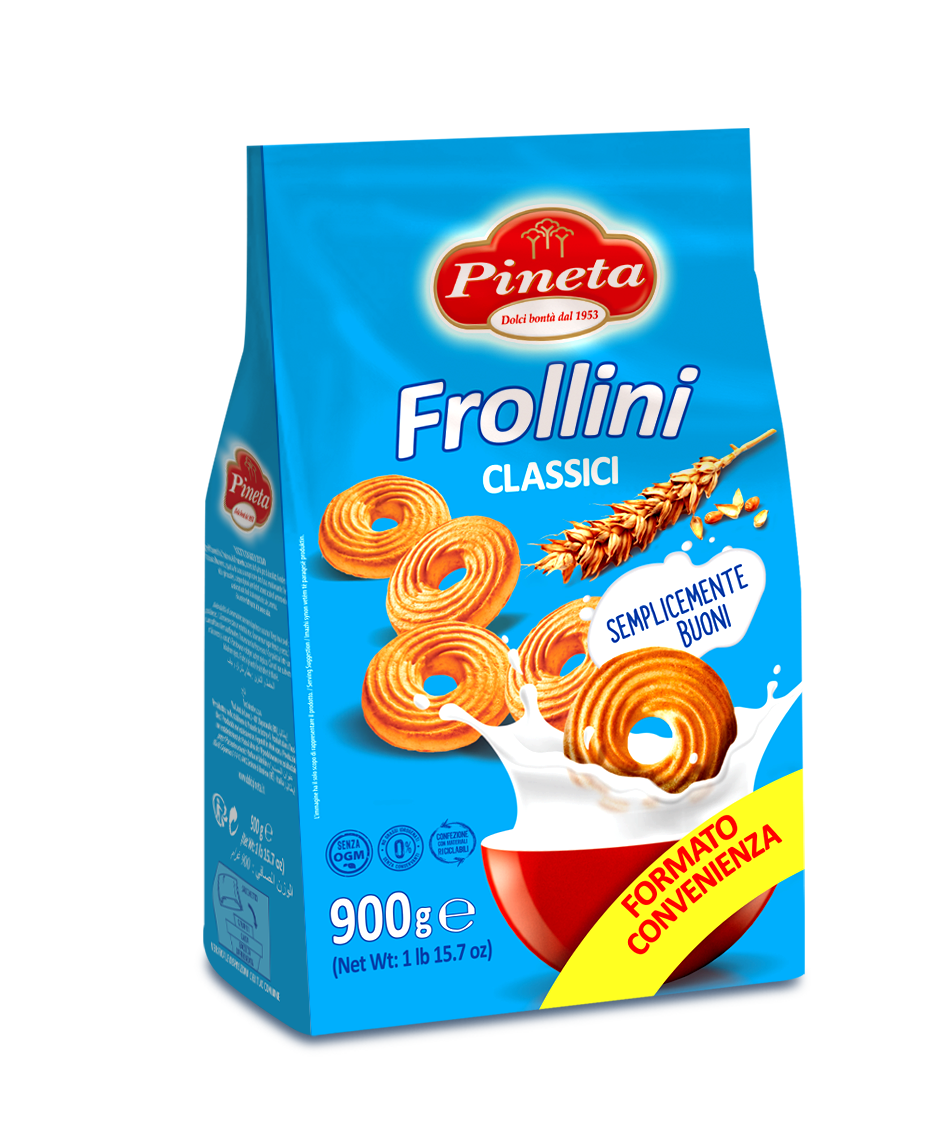 Biscotti Pineta - Frollini Classici - Linea Classici