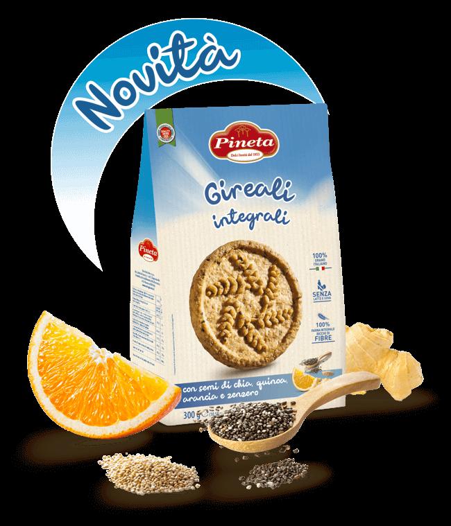 Pineta - Biscotti Salutistici