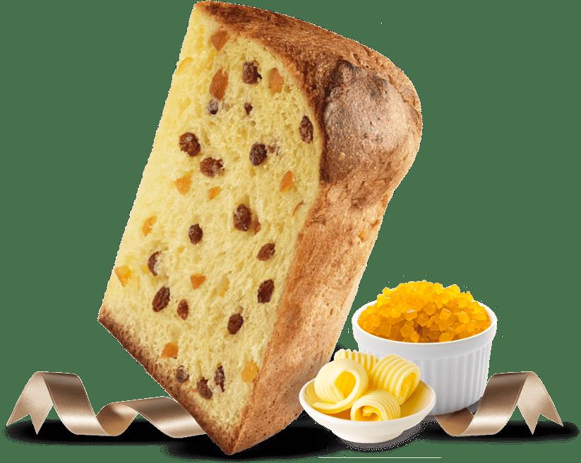 Biscotti Pineta - Panettone Classico - con ingredienti