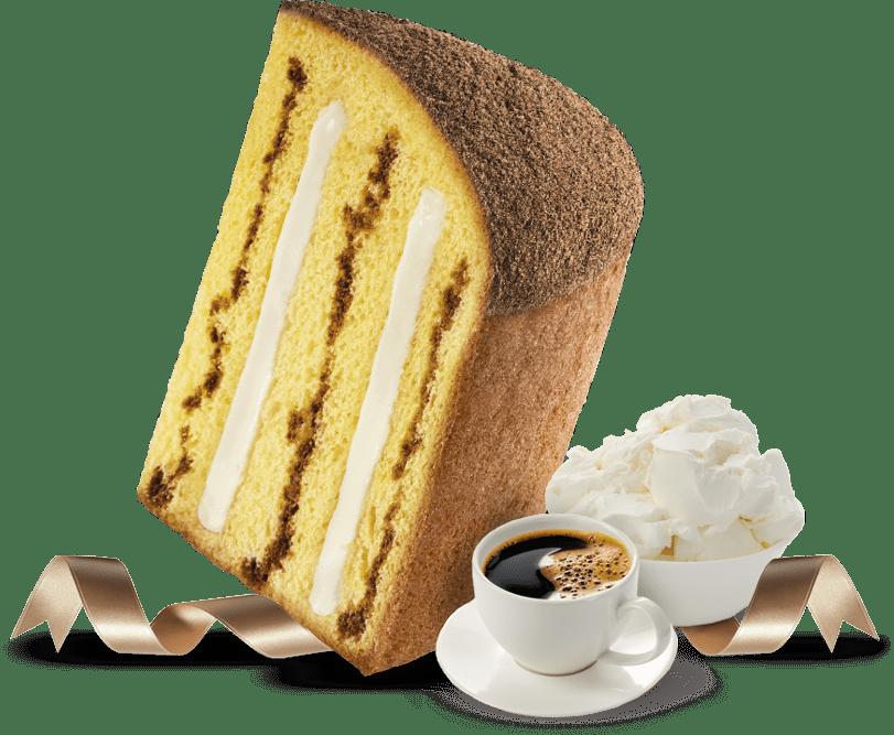 Biscotti Pineta - Panettone Cuor Caffè - con ingredienti