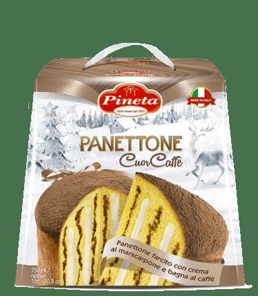 Dolci Pineta - Panettone Cuor Caffè - Linea Natale
