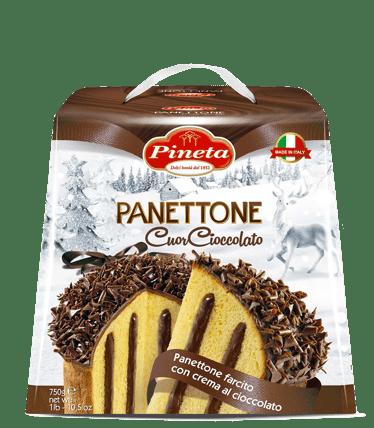 Dolci Pineta - Panettone Cuor Cioccolato - Linea Natale
