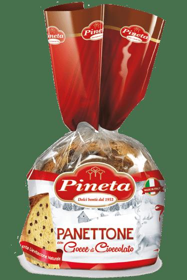Dolci Pineta - Panettone con gocce al Cacao - Linea Natale