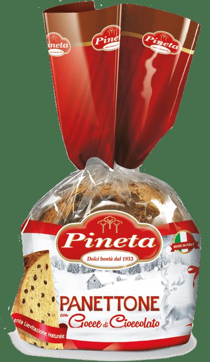 Panettone con gocce al Cacao - pack