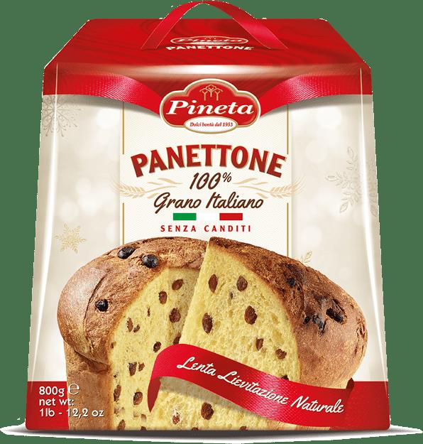 Panettone Senza Canditi - pack