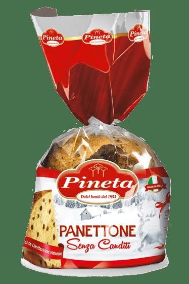 Dolci Pineta - Panettone senza Canditi - Linea Natale