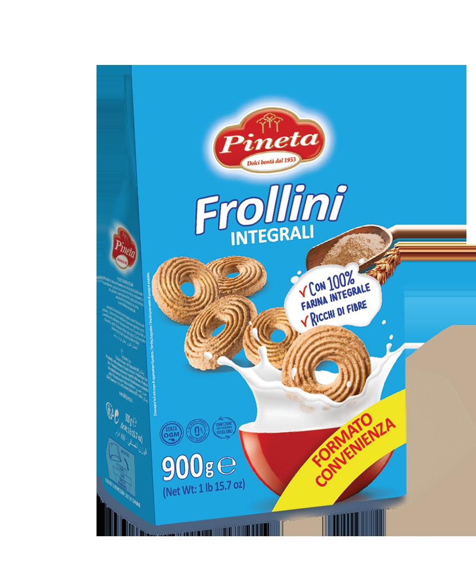 Biscotti Pineta - Frollini Integrali - Linea Classici